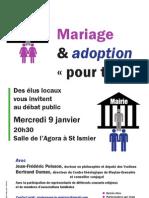 Soirée 9 janvier Mariage