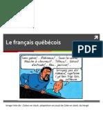 cours 7 - franais qubcois