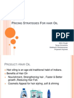 Pricing Strategies for Hair Oil
