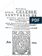 Historia del Célebre Santuario de Nuestra Señora de Copacabana - Alfonso Ramos Gavilán
