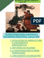 TEMA7-TRANSFORMACIÓNS AGRARIAS E EXPANSIÓN INDUSTRIAL (SÉCULO XIX)