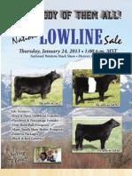 National Lowline Sale