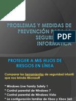 Problemas y Medidas para la prevencion de seguridad informática
