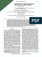 Conversion of Polyethylene to Transportation Fuels