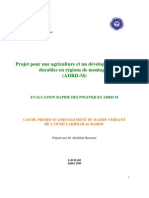 Projet Agriculture Dvpt Rural Durable