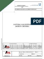 Natural Gas System Design Criteria- A