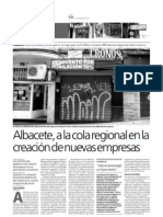 Reportaje sobre la creación de nuevas empresas en Albacete (parte 1)