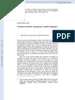 Variantes invisibles, emergencia y cambio lingüístico (Mario Barra Jover)