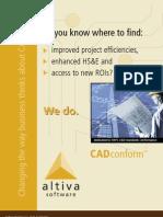 AltivaSoftware CADconform Brochure