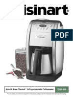 Cuisinart Coffee Maker Manual