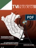"""Revista """"Red TV Noticias""""  N° 1"""