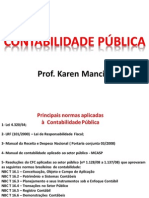 CONTABILIDADE PÚBLICA - 1ª parte - TCE-RJ