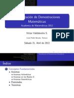 Demostraciones Matematicas