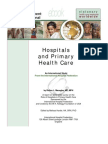 Hospitals and Primary Health Care