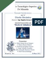 INVESTIGACIÓN UNIDAD 8-DISEÑO MECÁNICO