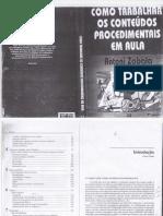 2.A. Zabala - Como trabalhar os Conteúdos Procedimentais em Sala de Aula