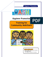 WASH Hygiene Promotion. Training for Community Mobilisers