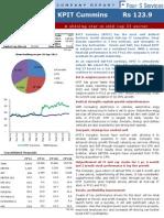 Kpit Cummins Company Report