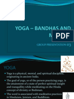 YOGA – BANDHAS AND MUDRAS