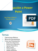 Introduccion a Power Point