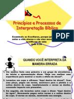 Princípios e Processos de Interpretação Bíblica