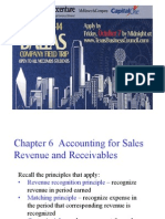 Financial Accounting Sales Revenue