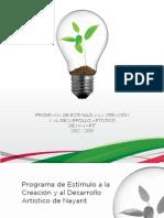 CONVOCATORIA PECDA 2012-2013