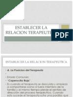95306024 La Relacion Terapeutica