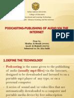 Podcast technology