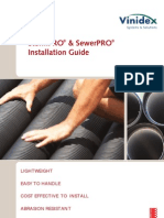 Storm and Sewerage Pipe Installation Guide, Vinidex