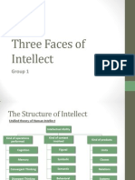 three faces of intellect