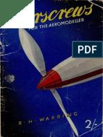 Airscrews for the Aeromodeller