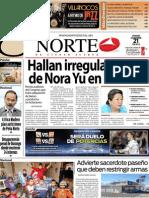 Periodico Norte de Ciudad Juárez 21 de Diciembre de 2012