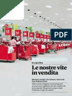 Le Nostre Vite in Vendita Di Michael J. Sandel - Internazionale 21.12.2012