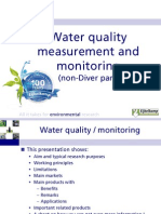 Water Quality Measurement & Monitoring Non-Diver-Def