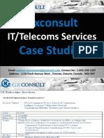 GXConsult Case Studies IT Telecoms Services