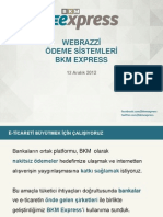 BKM Express Webrazzi Ödeme Sistemleri 12 Sunumu