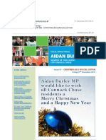 News Bulletin from Aidan Burley MP #52 - CHRISTMAS 2012 SPECIAL EDITION