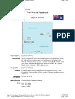 Profile - Cayman Islands
