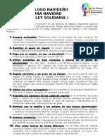 Navidad Sostenible y Solidaria - Ecodecalogo Navideno