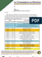 Memo 201224 - Revised COMELC Calendar