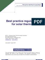 Best Practice Solar Regulations