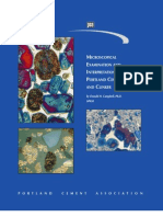 Microscopical Examination and Interpretation of Portland Cement and Clinker -By Donald H. Campbell PhD Sp030