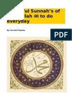 26863499 Beautiful Sunnah s of Rasulallah to Do Everyday
