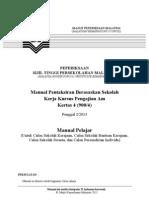 Manual Kerja Kursus (Kerja Projek) Pengajian Am (Manual Calo