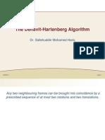 Denavit - Hartenberg Algorithm