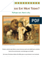 Would Jesus Eat Meat Today?