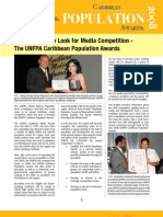 UNFPA Caribbean Population Awards Publication 2008