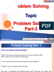 Problem Solving Part 3
