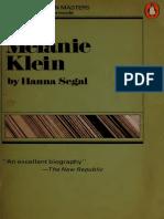 86657459 Melanie Klein by Hanna Segal